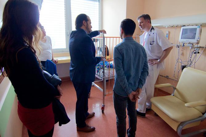 david archuleta paul cardall tour pediatric childrens hospital 1