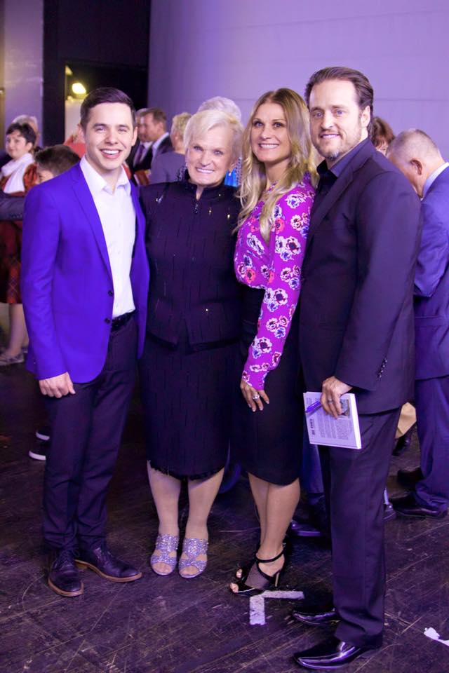 paul cardall and family and david archuleta