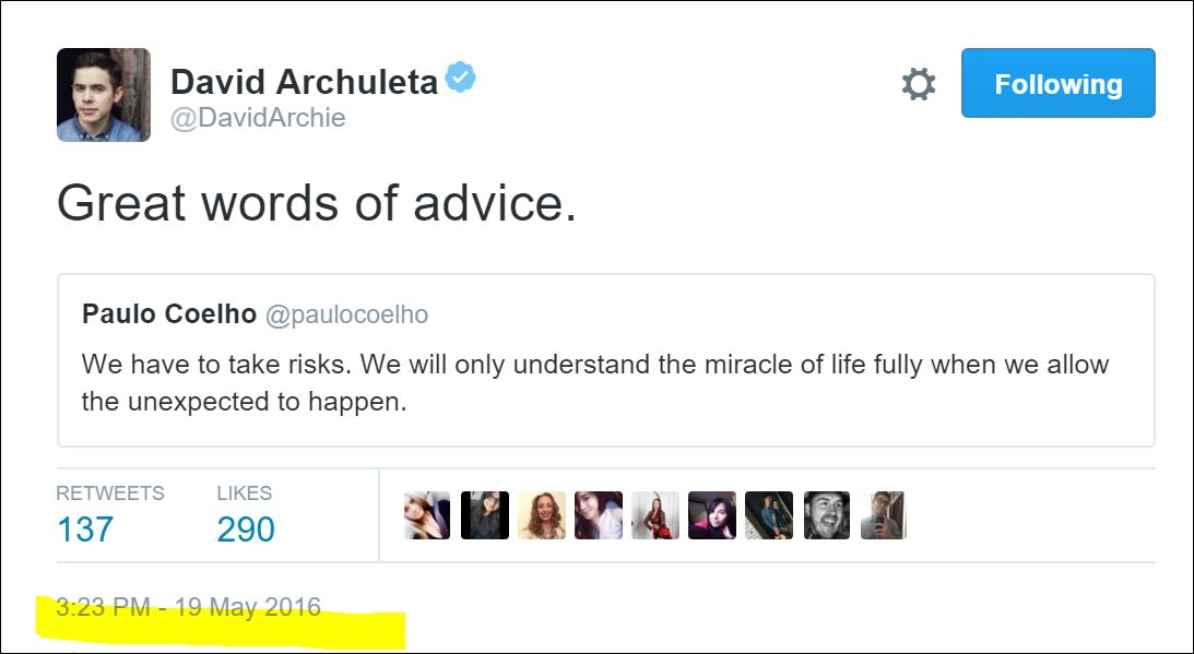 tweets wisdom paul coelho