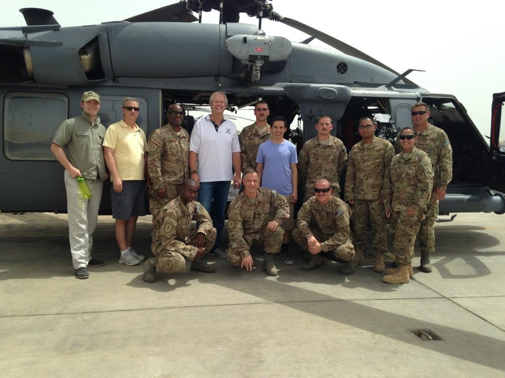- military tour