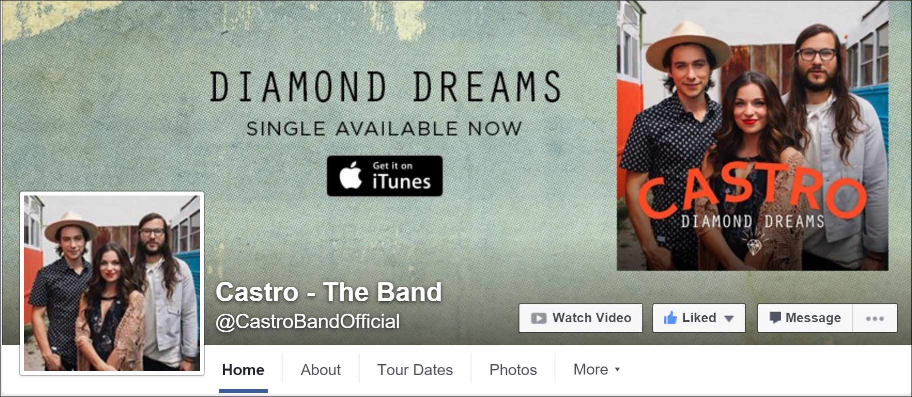 castro the band on facebook
