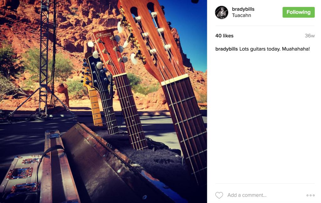 Tuacahn guitars