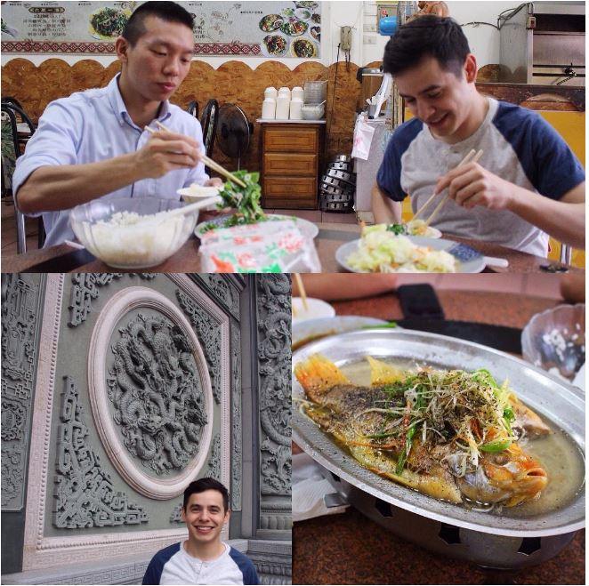 David Archuleta IG Taiwan Foodie post
