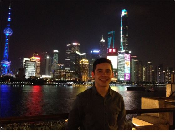 Credit david Archuleta in Shanghi