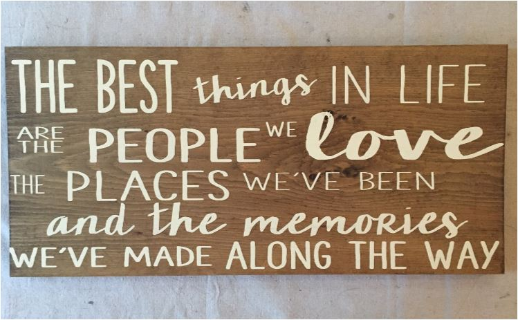 quote the best things in life are the people we love