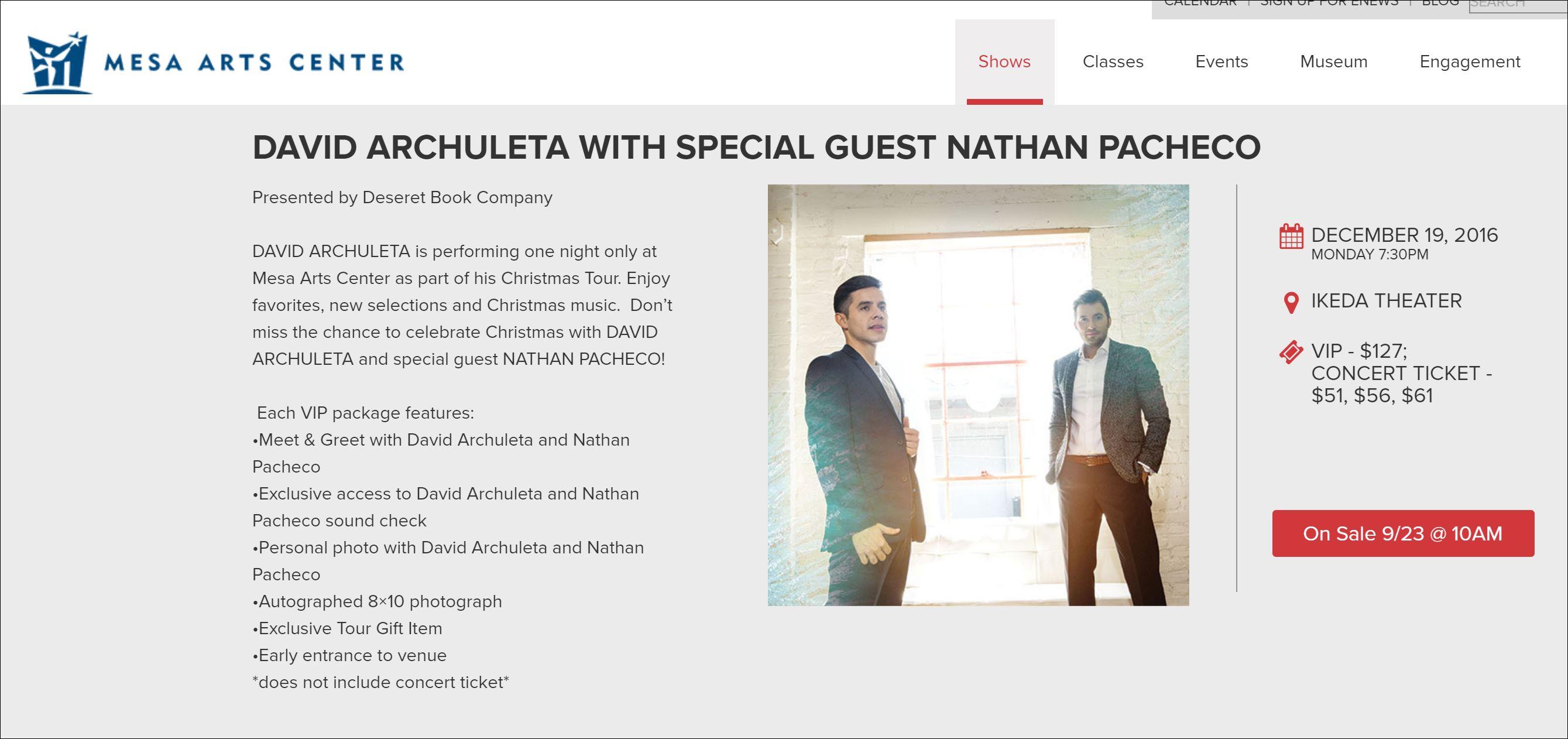 mesa-arts-david-archuleta-nathan-pacheco-announcement