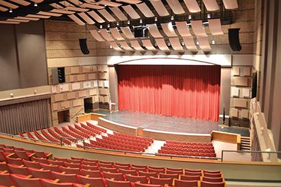 - Theater Interior