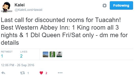 tweet-tuacahn-discounted-room-kalaei
