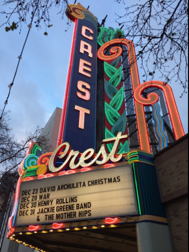 Crest Theater Marquee Sacramento~ credit Kalei