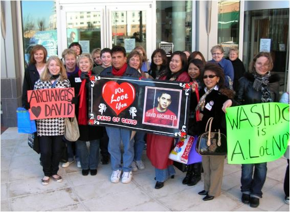 Virginia Beach David Archuleta show Archies
