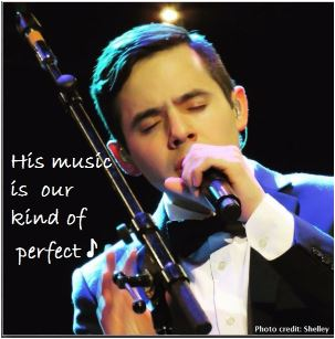 david Archuleta puzzle snip music my kind of perefect cred shelley