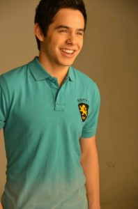 David Archuleta green polo Bench shoot
