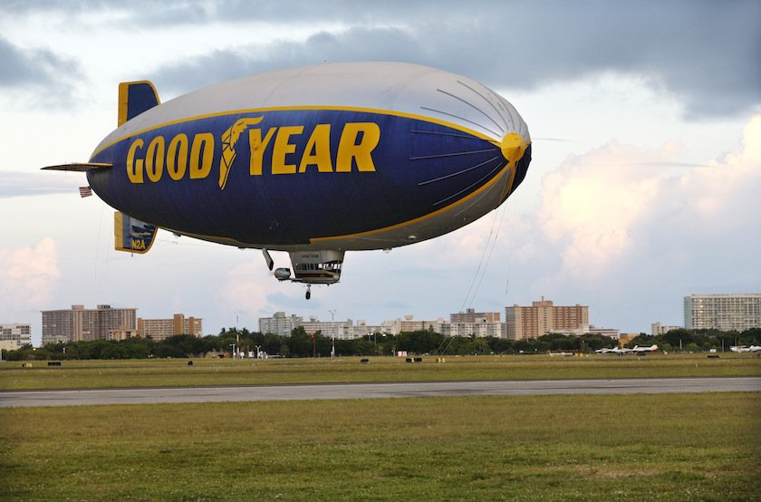 Goodyear Blimp, Florida