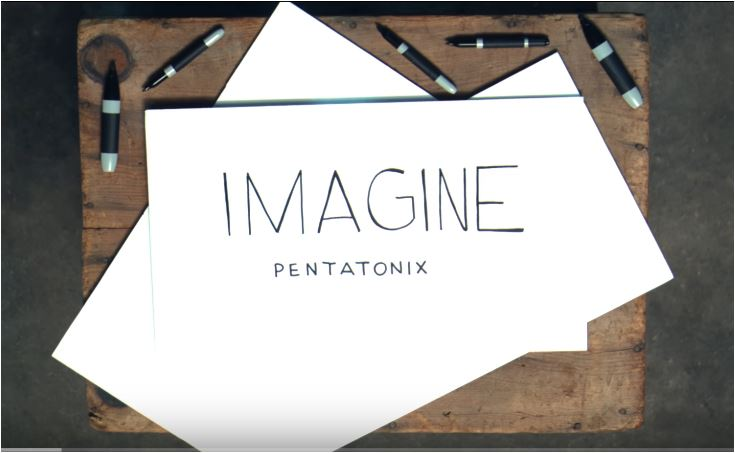 Imagine credit pentatonix