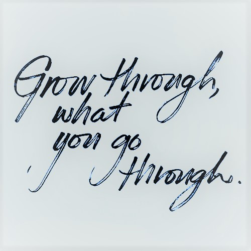 quote grow through what you go through