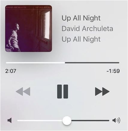 David Archuleta Up All Night stream