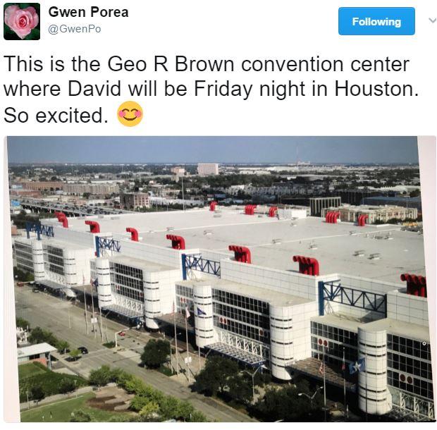 TOFW Houston Geo Brown Convention Center cred Gwen