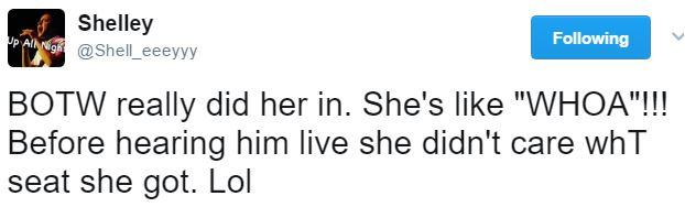 TOFW Houston new fan Shelley tweet 2