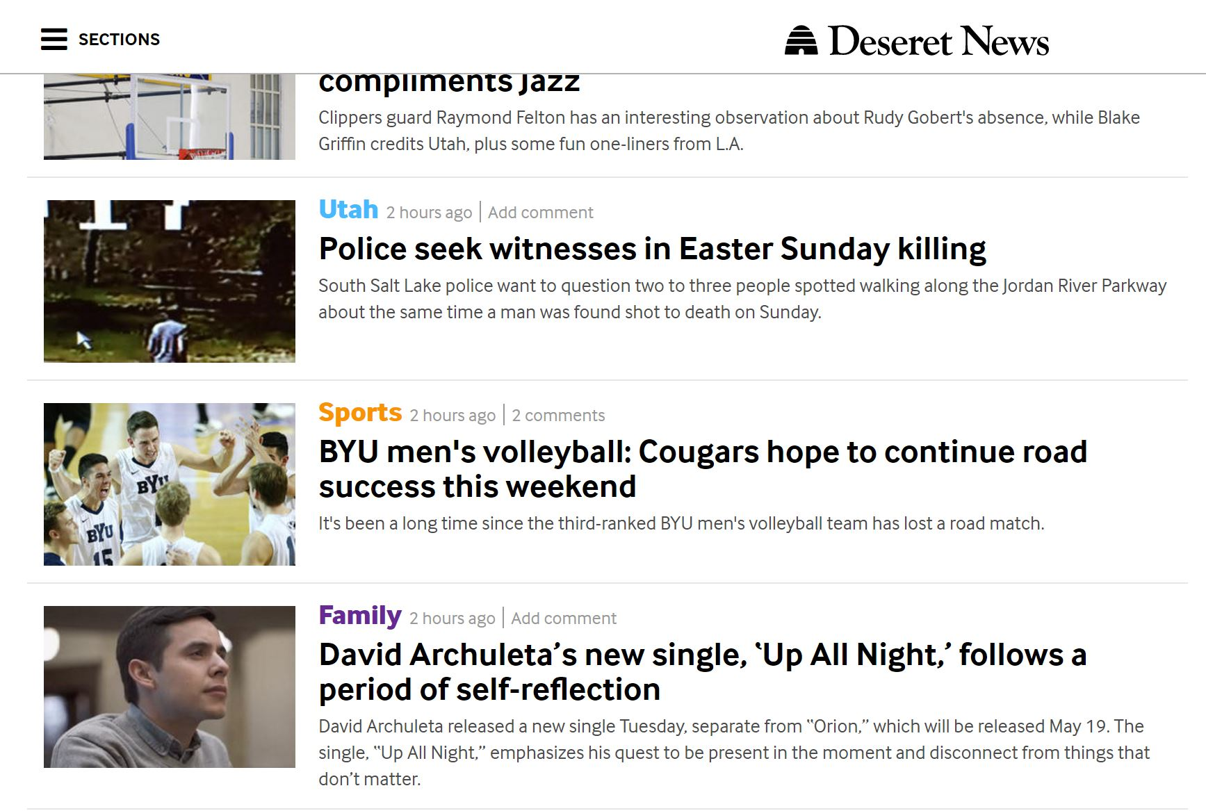 deseret news tweet