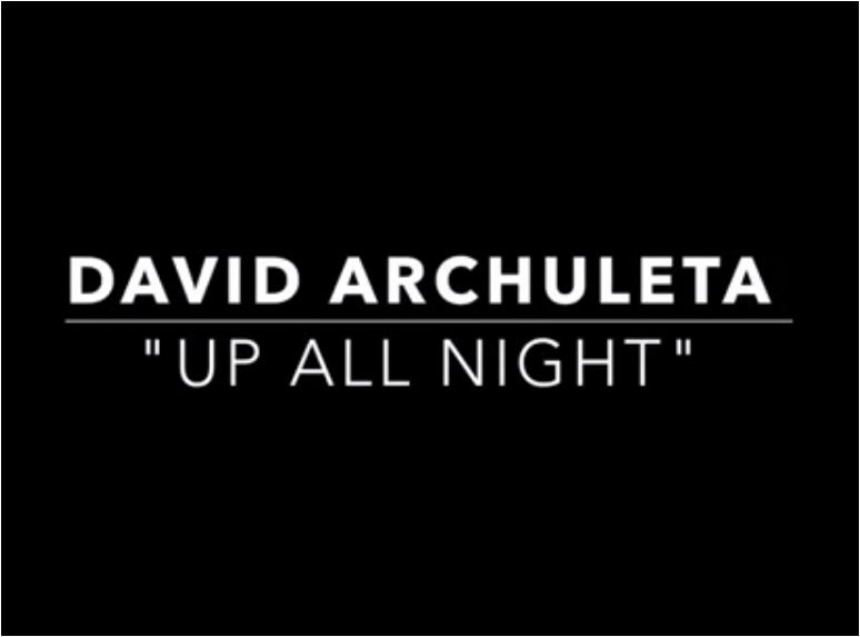 david Archuleta Up All Night UAN mv cap 7