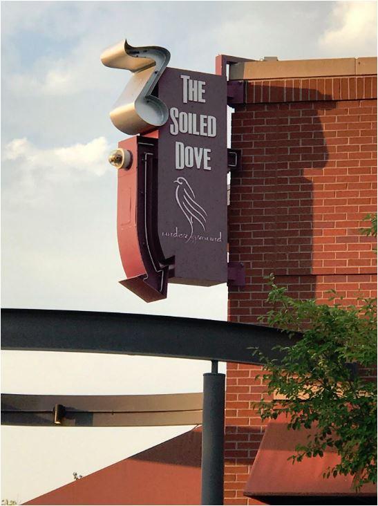 Denver Soiled Dove sign David Archuleta credit Shelley