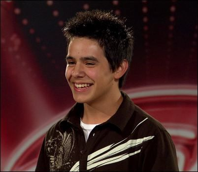 Image result for david archuleta audition