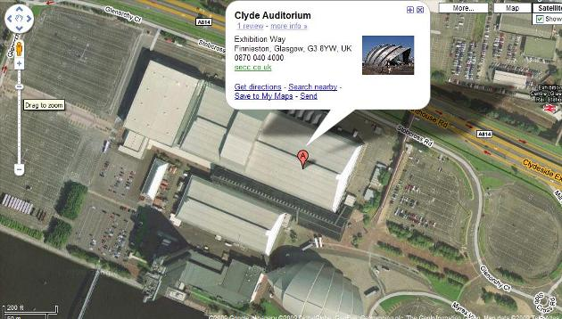 glasgow-clyde-auditorium-google-maps