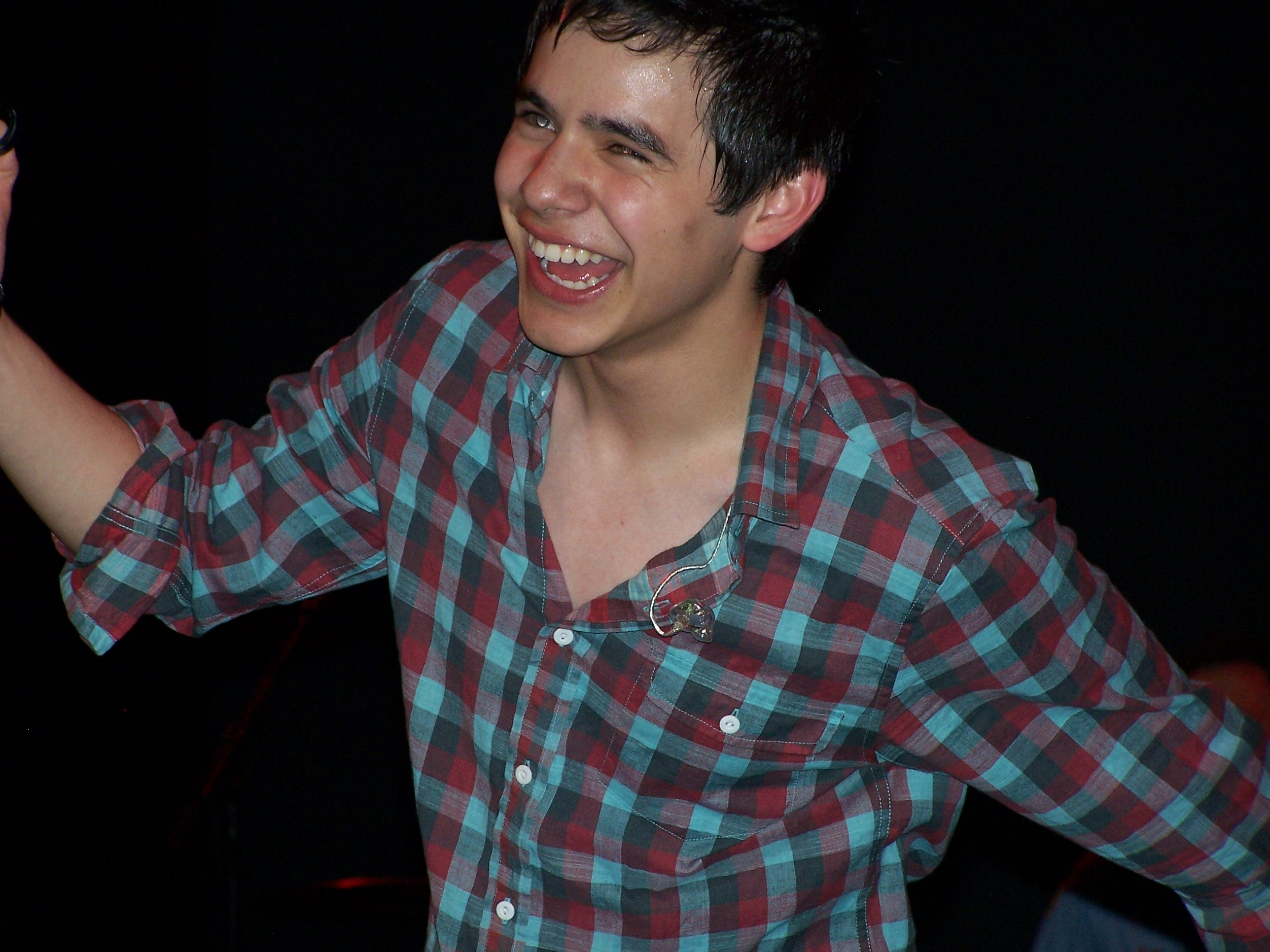 David Archuleta performs in Pittsburg in one of his solo shows during the Demi / David tour