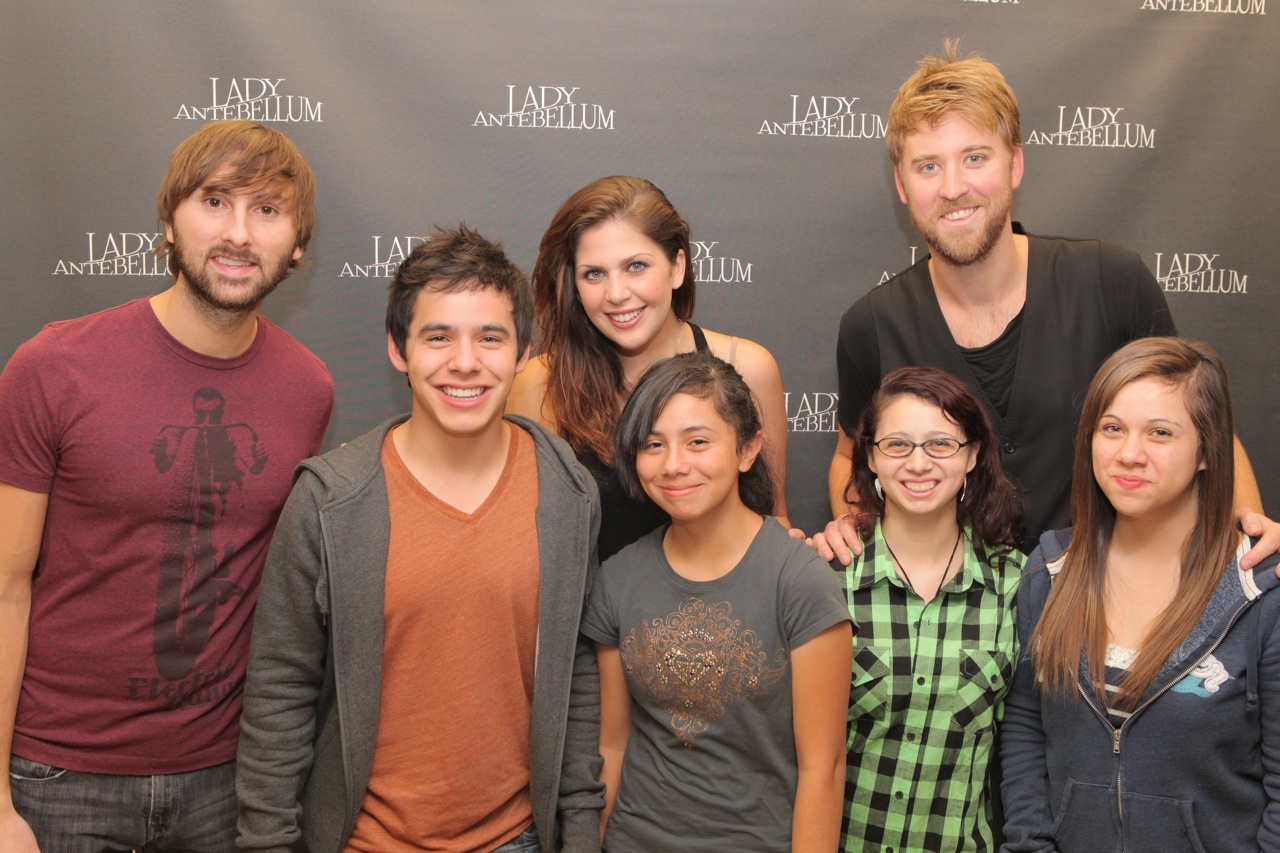 David coming todiana fresno today lady antebellum pic here david popped in to the lady antebellum meet and greet m4hsunfo