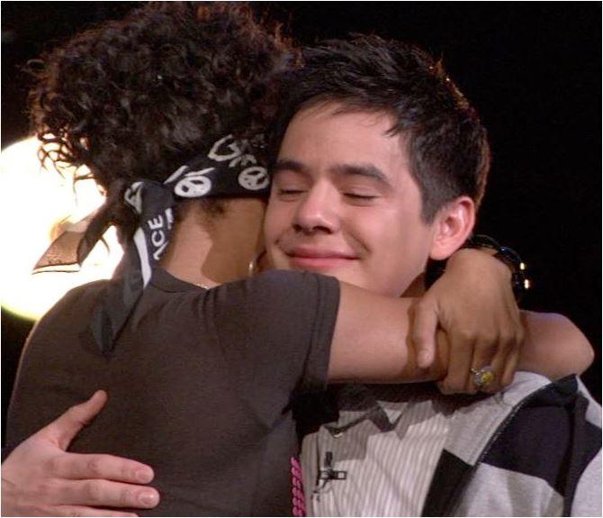 An Archu-Lushington hug
