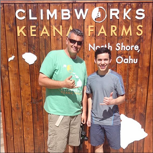 keana farms climbing hawaii david instagram
