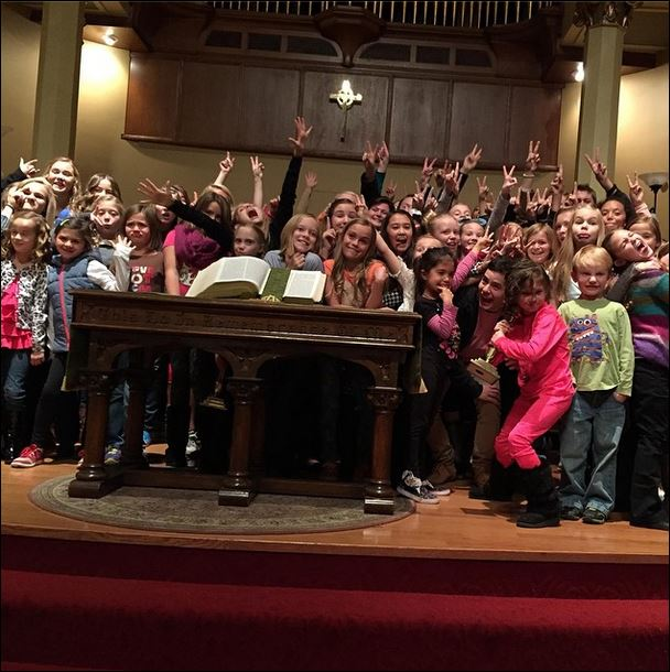 onevoice childrens choir rehearsal