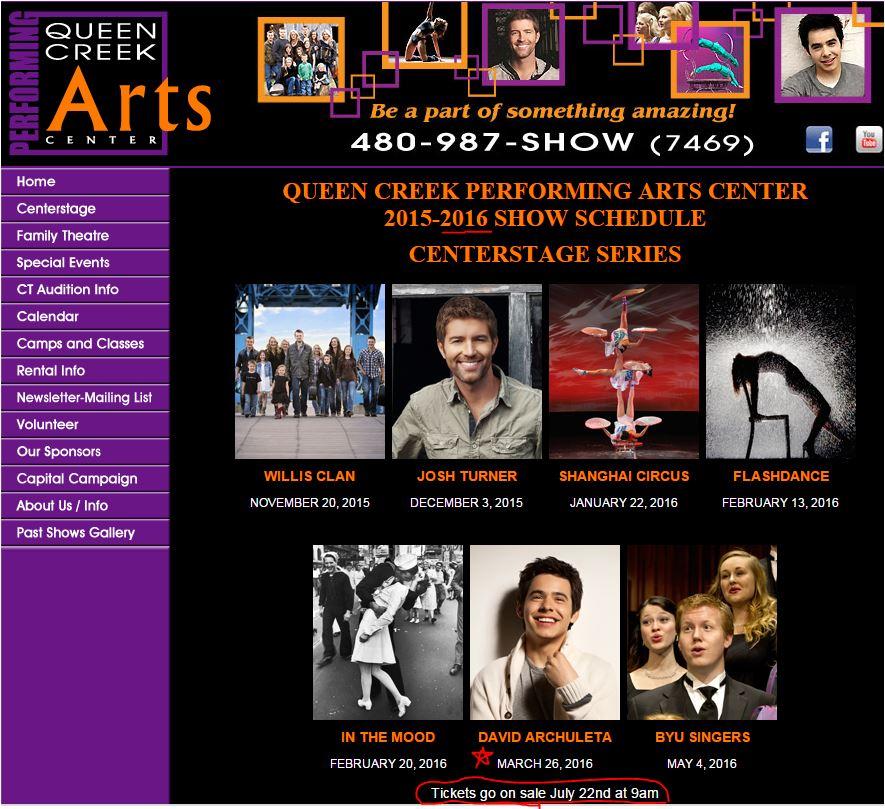 Queen Creek Arts Center