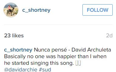 Nunca Pense clip on IG message credit C Shortney