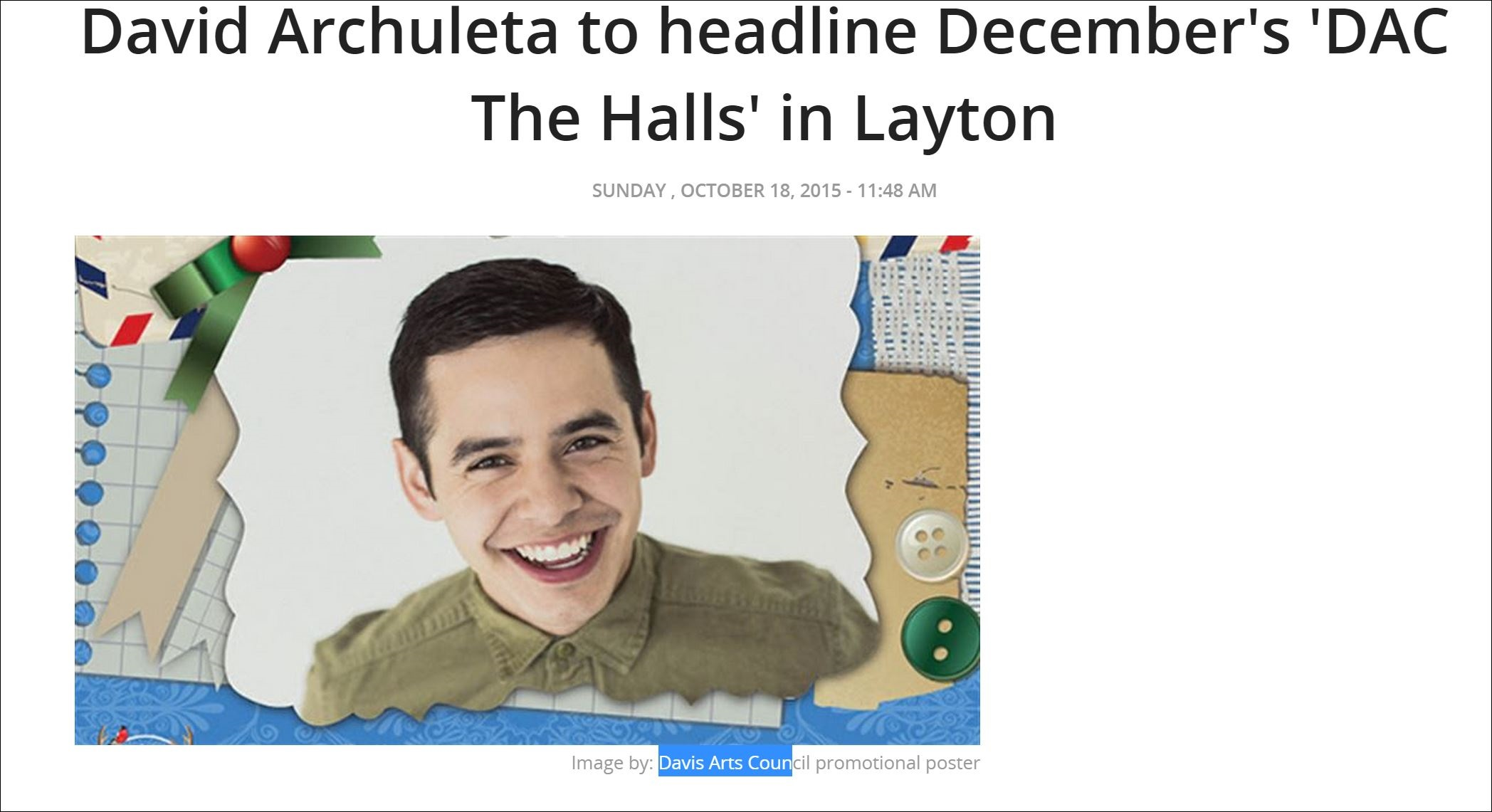 dac the halls