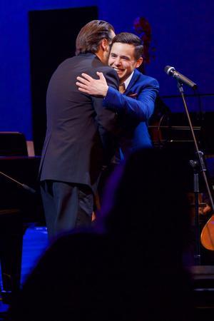 david archuleta hugging paul cardall slovenia