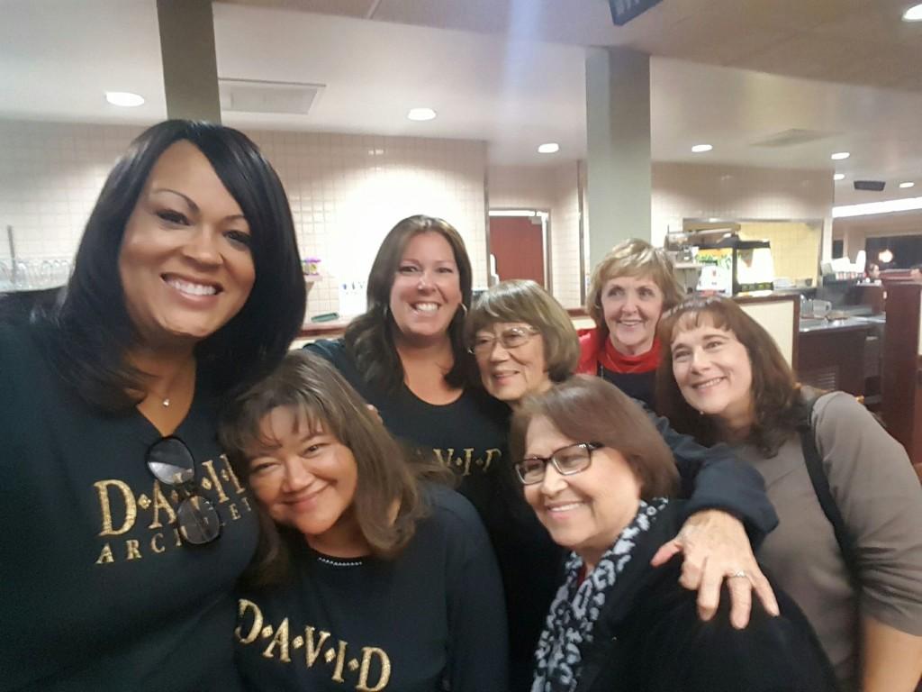 - Janet, Kalei, Linda, Angela, Lily, Gwen & Sue