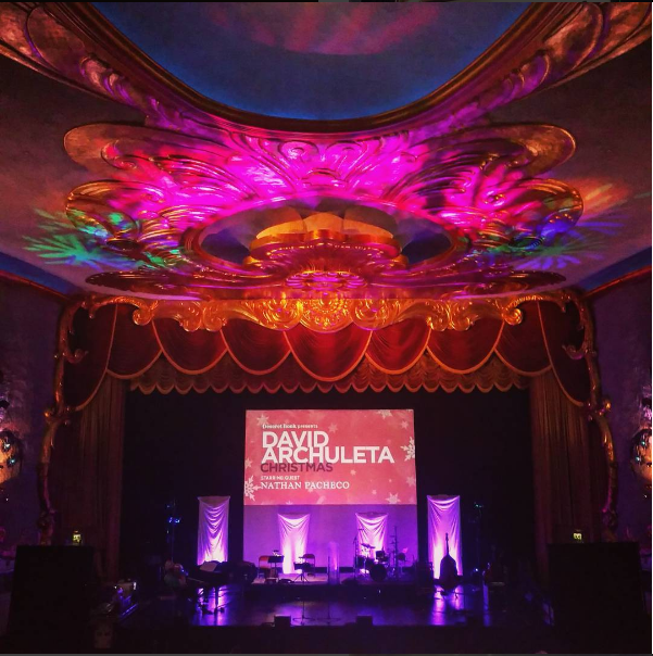 Sacramento Crest Theater David Archuleta show credit @Mitcheyslick on IG