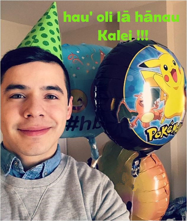 David Archuleta happy birthday Kalei