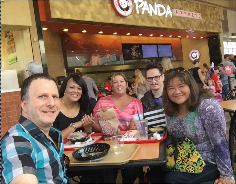 Queen Creek Lunch at the mall Credit Kalei 3/2016