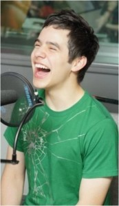 David Archuleta green spider t