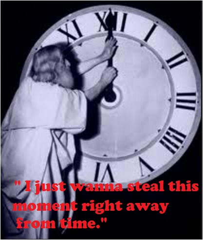 daylight savings time meme steal this moment right away from time