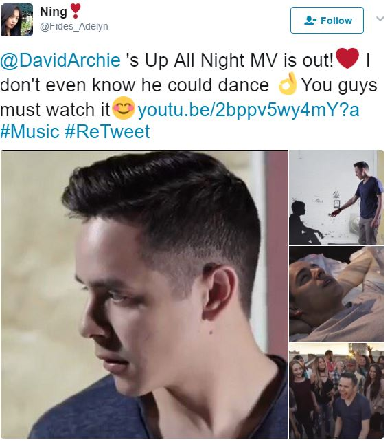 David archuleta UAN crdit ning