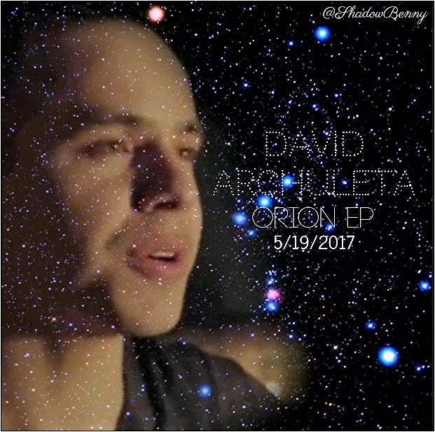 David Archuleta Orion release graphic credit Shanelle