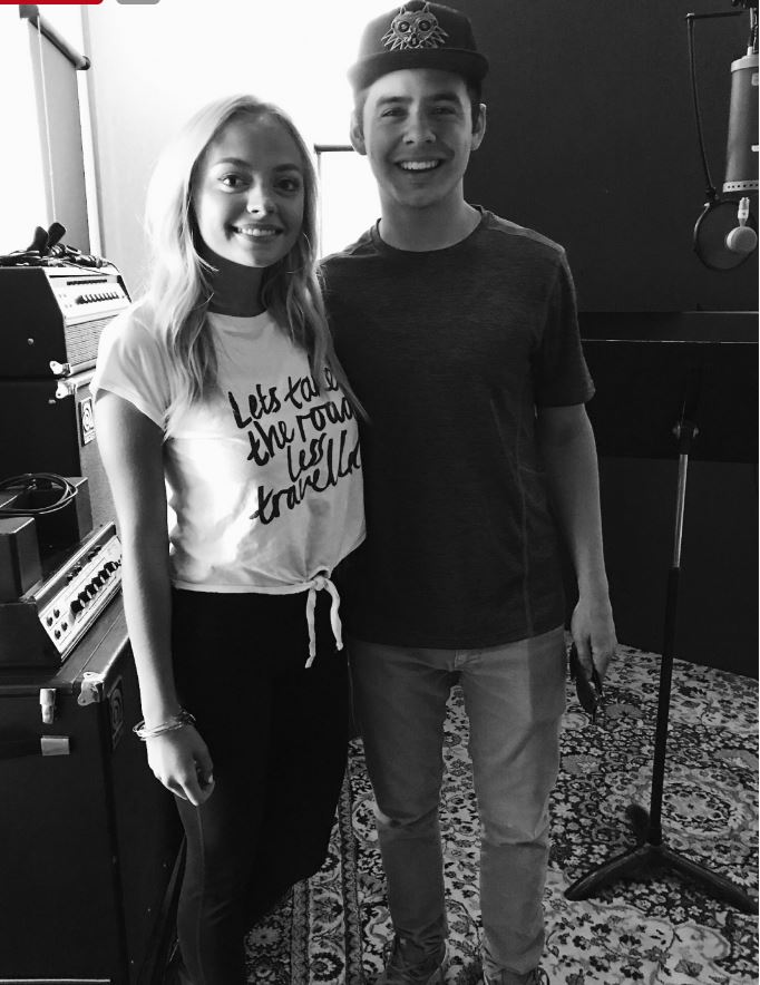 Madilyn Page with David Archuleta