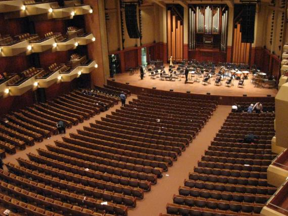 Taper auditorium Benaroya Hall Seattle