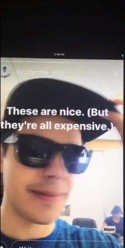 David Archuleta ,Canada, sunglasses, mom