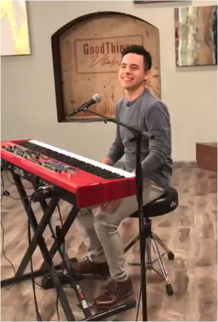 David ARchuleta Good Things Utah red nord credit Kari
