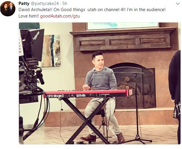 David Archuleta Good Things Utah credit PAttycake