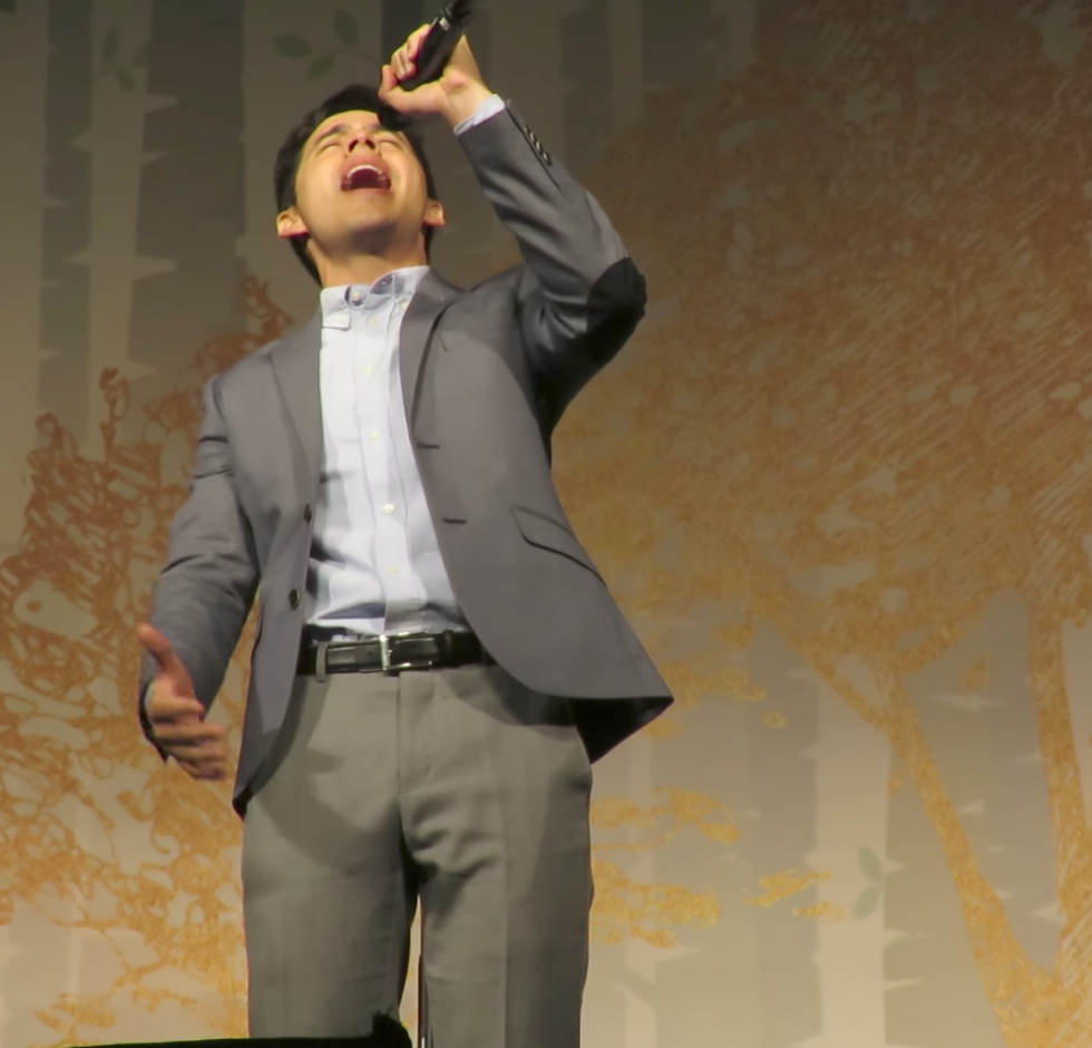 David Archuleta TOFW Massachusetts screen cap vid from Muldur
